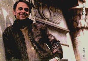 Carl Sagan, ancients astronauts  and Voyager Saganpic1